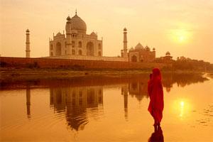 Sunrise Taj Mahal, Agra